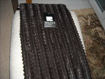 Chocolate brown throw in Ramstein, Germany