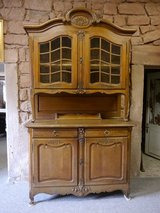 4 door Buffet, oak 1890 in Ramstein, Germany
