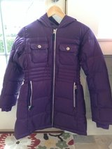 Lands End Purple Down Parka - Size 10-12 in Plainfield, Illinois