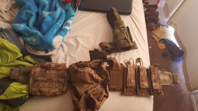 Ares Armor Raider Molle Belt with many extras in Camp Pendleton, California