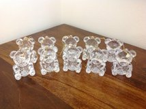 """CLEAR """"CHRISTMAS BEARS"""" LIGHT UP ORNAMENTS (CONNECT TO YOUR LIGHTS) in Camp Lejeune, North Carolina"""