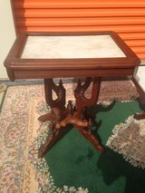 Antique Walnut Victorian Marble Tables in Camp Lejeune, North Carolina