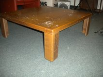 "Wood Coffee table 36"" x 36"" x 15""H in Ramstein, Germany"