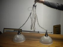 Adjustable Dining table two light chandelier fixture in Ramstein, Germany
