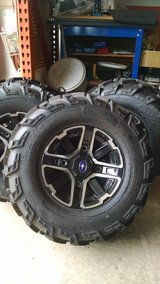 Polaris ranger rims and tires new in Sandwich, Illinois