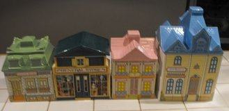 Avon Canister Houses Hotel Cottage Set Like NEW in Springfield, Missouri