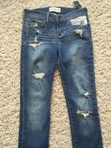 Abercrombie Jeans-Girls Size 14 Slim in Chicago, Illinois