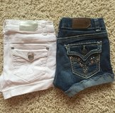 Denim Shorts-Girls Size 10 in Chicago, Illinois