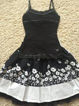Girls Floral Skirt/Tank-Size 8 in Chicago, Illinois
