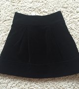 Girls Black Velvet Skirt-Size 6 in Chicago, Illinois