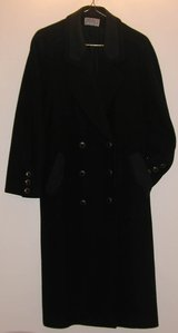 Ladies Black Wool and Casmere Coat - Brandon in Lakenheath, UK