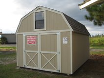 12x16 Lofted Barn Storage Building Shed SPECIAL!! in Moody AFB, Georgia