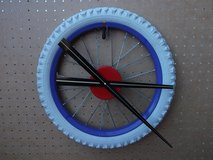 CLOCK - BICYCLE WHEEL CLOCK in Lockport, Illinois
