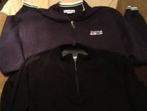 (2) Large Men Zipper Shirts in Ramstein, Germany
