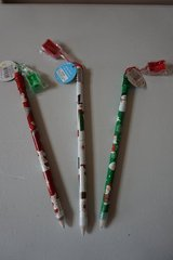 Oversize Christmas Pencil with Sharpener, Quantity 3 in Chicago, Illinois