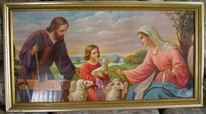 Colorful Print of Jesus in Spangdahlem, Germany