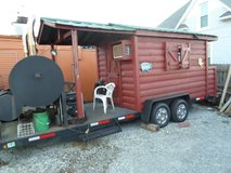 For Sale: Barbeque Setup On a Unique Pull behind Trailer, Don,t miss out on this very cool setup... in Quad Cities, Iowa