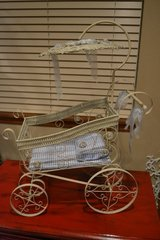 Miniature Display Baby Carriage Prop Shower Card Holder or Doll in Naperville, Illinois