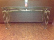 Living Room Tables - glass and bronze, 4 piece in Cleveland, Texas