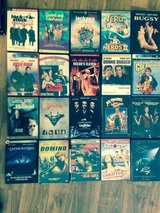 Many different movies and DVD sets in Fort Drum, New York