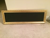 Gold Framed Chalkboard sign in Chicago, Illinois