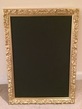 Beautiful Gold framed Chalkboard sign in Chicago, Illinois