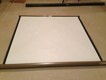 Da-lite Vidio B Model Manual Projection Screen....Great Condition! in Batavia, Illinois
