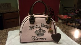 Juicy Couture Pink/Brown Handbag and Large Wallet...MINT! in Sugar Grove, Illinois
