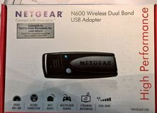 Netgear High Performance Dual Band USB Adapter (THREE) in Lockport, Illinois