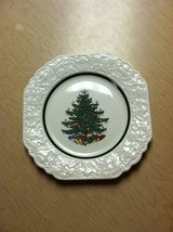 CHRISTMAS TREE PLATE in Chicago, Illinois