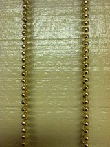 GOLD BEAD GARLAND in Chicago, Illinois