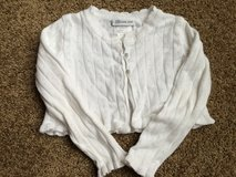 White half size cardigan in Sandwich, Illinois