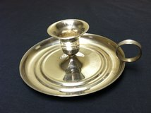SILVERPLATE CANDLE HOLDER in Aurora, Illinois