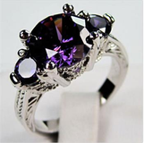 NEW - Purple Amethyst Ring - Sizes 6, 7 and 8 in Alamogordo, New Mexico