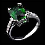 NEW - Green Quartz Ring - Size 7 in Alamogordo, New Mexico