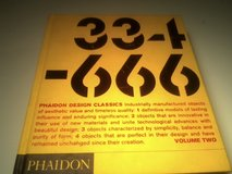 BOOK- PHAIDON DESIGN CLASSICS  VOLUME 2 in Fort Campbell, Kentucky