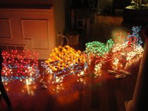 LARGE CHRISTMAS LIGHTED OUTDOOR INDOOR TRAIN in Camp Lejeune, North Carolina