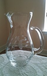 Princess House Handblown Small Beverage Pitcher #402 in Conroe, Texas