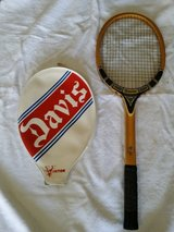 Vintage Davis Tennis Racket in Shorewood, Illinois