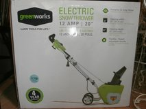Snow Thrower electric, brand new in a box in Fort Leavenworth, Kansas