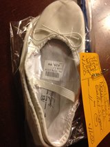 New White ballet Slippers Size girls 11 in Naperville, Illinois