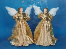 """(2) 19"""" Musical Christmas Angels - NEW! in Naperville, Illinois"""