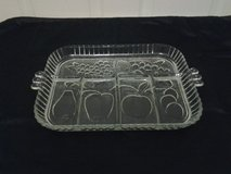 Glass Sectioned Serving Dish in Eglin AFB, Florida