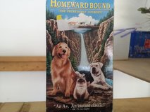 Homeward Bound VHS tape in Shorewood, Illinois