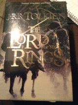 The lord of the rings 3book edition in Lockport, Illinois