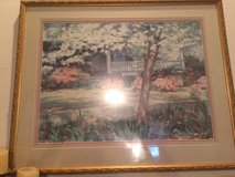 "Lowcountry Art ""  impressionistic painting signed and dated 1988 in Beaufort, South Carolina"