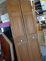 Pair of Pine Closet Doors in Bolingbrook, Illinois