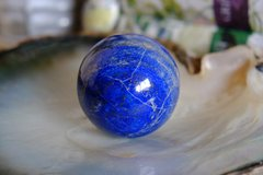 Large Natural Lapis Lazuli Polished Gem Stone Crystal Ball Sphere From Afghanistan in Los Angeles, California