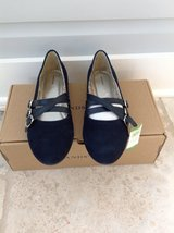 NIB Lands End Navy Blue Flat Shoes - youth Size 6 / Adult 7.5 in Glendale Heights, Illinois