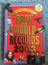 Scholastic Book of World Records 2003 in Westmont, Illinois